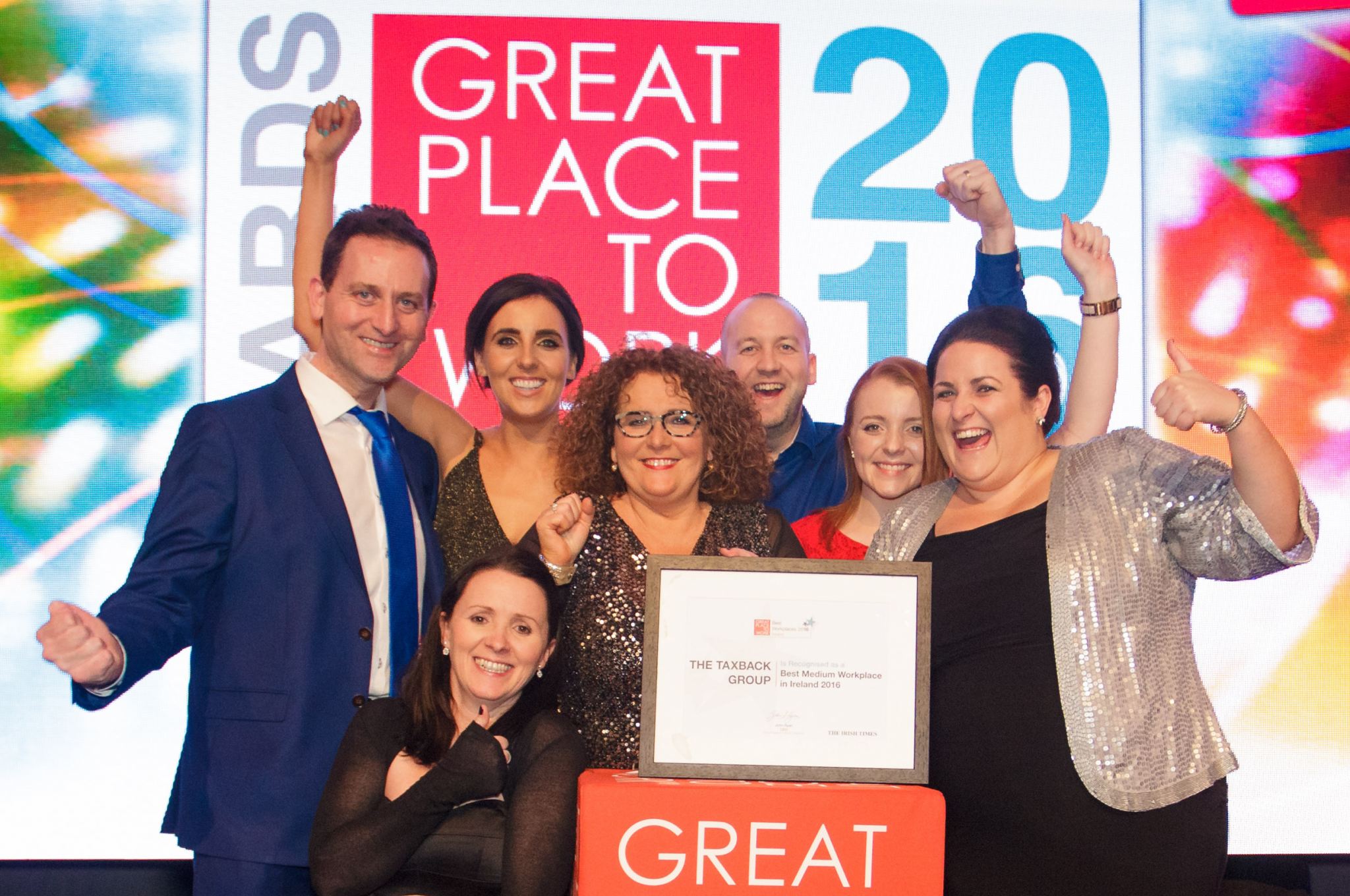 Great Place To Work Award Win 2015