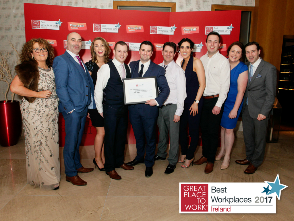 The Taxback Group retains Great Place To Work award!