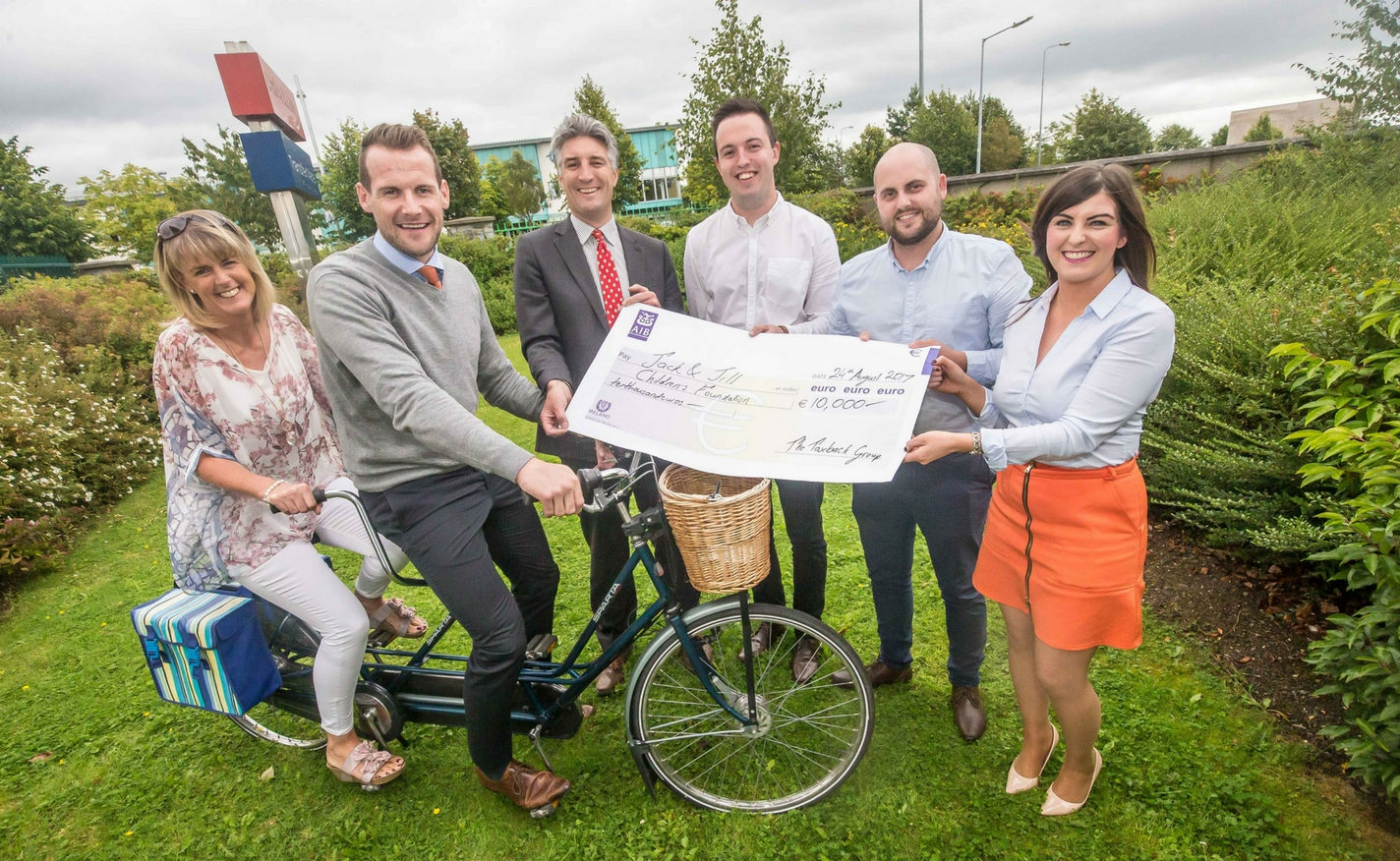 The Taxback Group sponsors Jack & Jill Kilkenny Cycle!