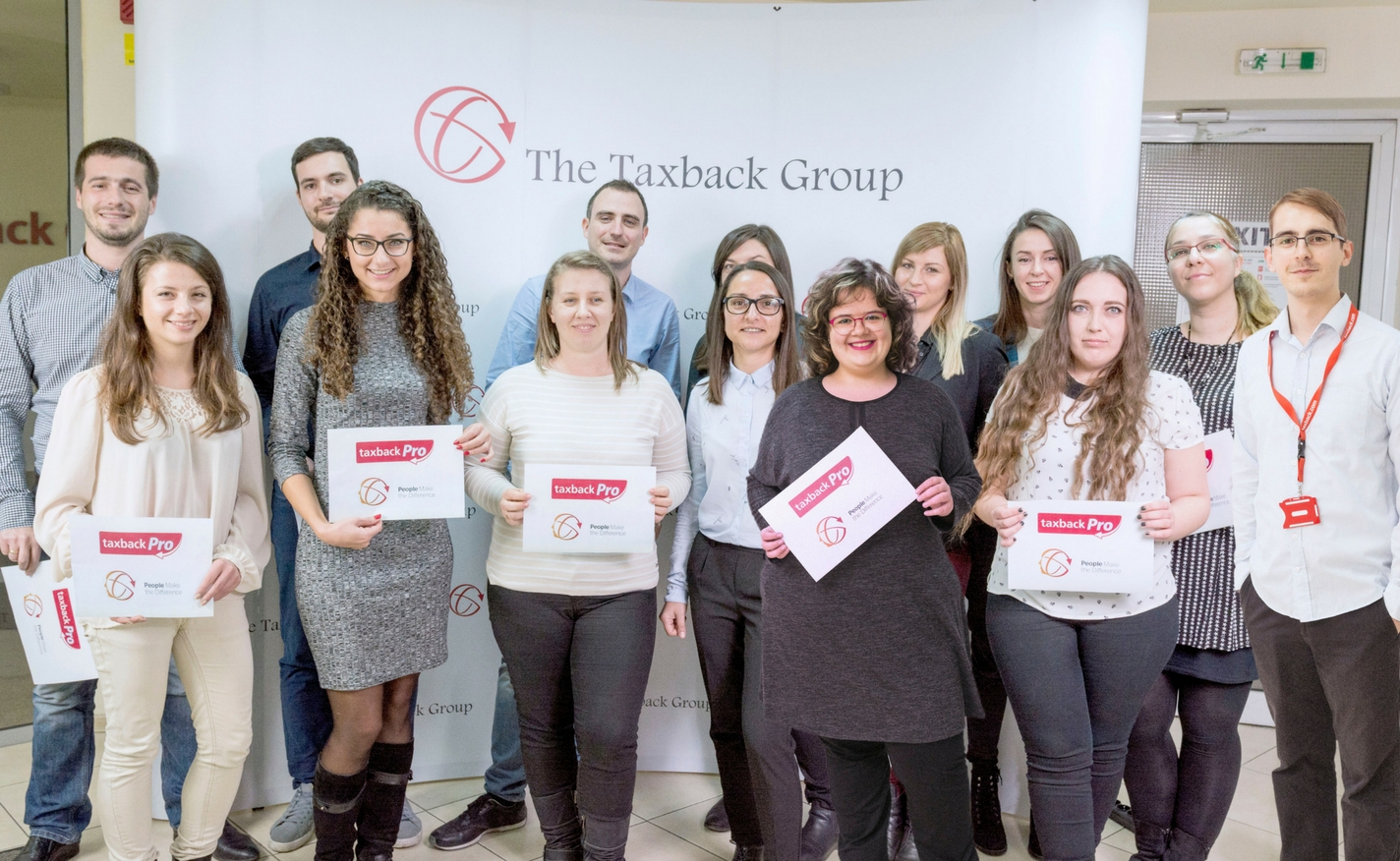 Taxback Pro Graduates with their certificates